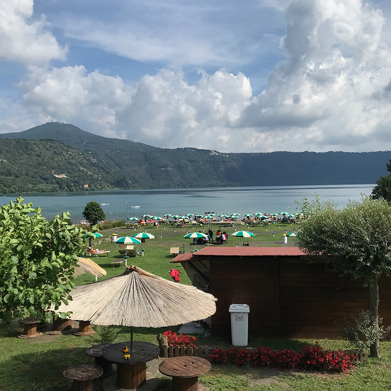 Lake of Albano Castelli Romani