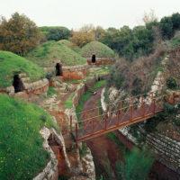 Necropoli Banditaccia Cerveteri Roman Countryside